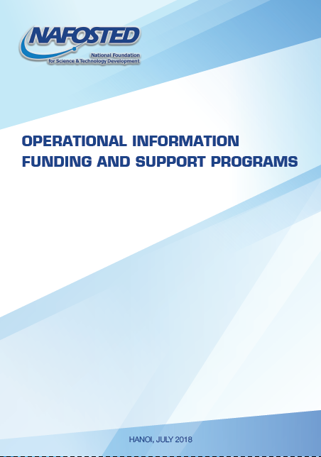 NAFOSTED Operational Information